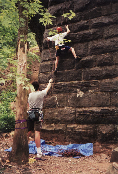 First mock sport lead, Elizabethtown pillar, 1999.