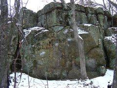 Rock Climbing Photo: Hangman Bloc.