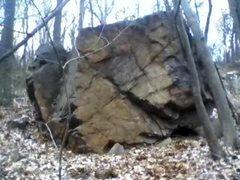 Rock Climbing Photo: The second boulder