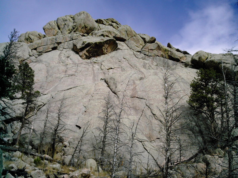 Rock Climbing Photo: The South Slabs.