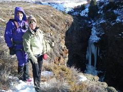 Rock Climbing Photo: Douglas Lossner and Betty Thorson.