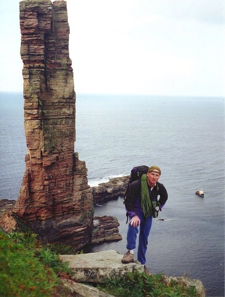 The Old Man of Hoy and Andy Ross