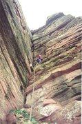 Rock Climbing Photo: Top of Pitch Three