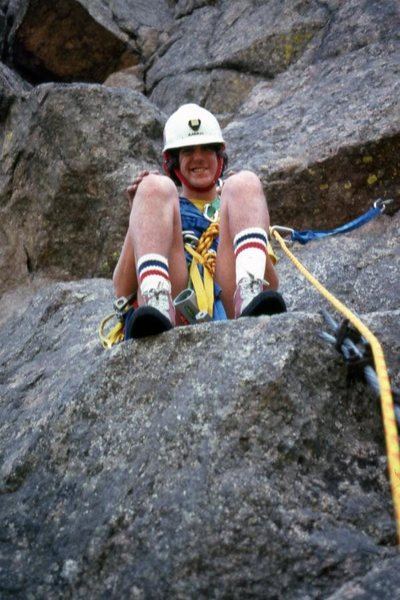 Rock Climbing Photo: Chuck at Ocelot. Certainly one of the first photos...
