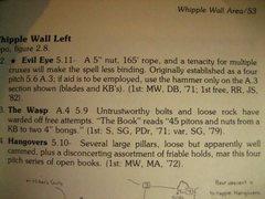 Rock Climbing Photo: evil eye description