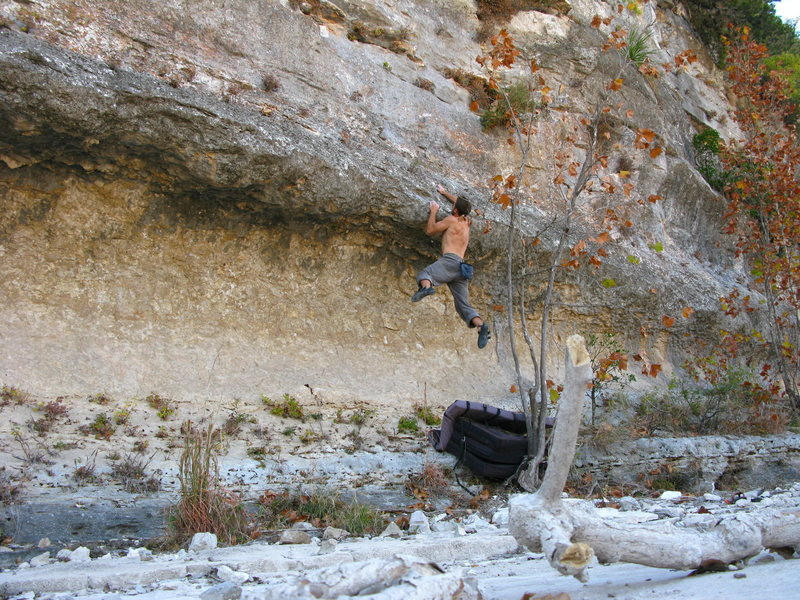 Rock Climbing Photo: Bouldering below the South Rim