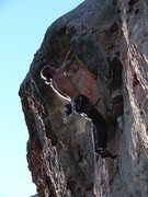 Rock Climbing Photo: Country Swing, 2007.  Actually logically finishes ...