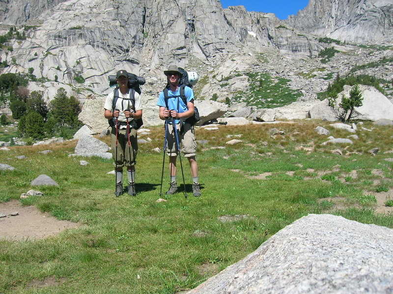Rock Climbing Photo: Dillon and I looking German in the Cirque of the T...