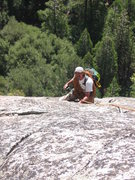 Rock Climbing Photo: This route is an excellent way to reach other clim...