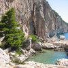 Cliffbase on the island of Hvar.