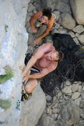 Rock Climbing Photo: Climbing in Paklenica National Park.  Always nice ...