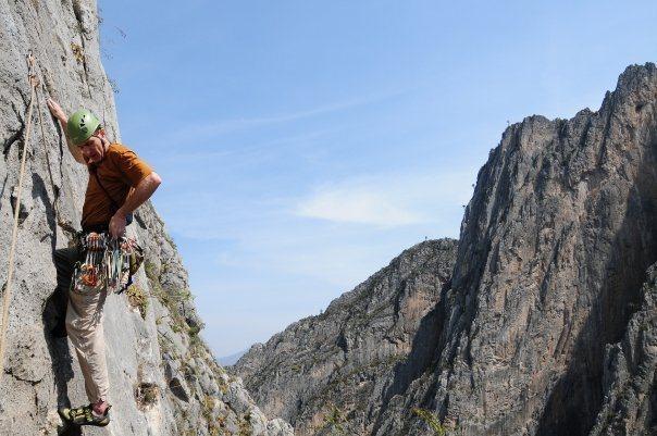 Rock Climbing Photo: 5th pitch of Space Boyz.