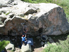 Rock Climbing Photo: Never mind Ashley Overton and Mike Greenfield on t...