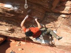 Rock Climbing Photo: Josh...firing.