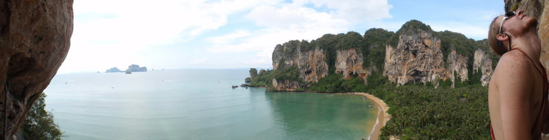 Rock Climbing Photo: Tonsai beach Panorama