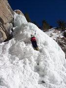 Rock Climbing Photo: Agnes Vaille Falls.