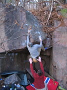 Rock Climbing Photo: Bad pic, but its something. In the biz