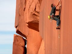 Rock Climbing Photo: Chris onsights Winner Takes All