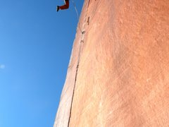 Rock Climbing Photo: Taking a monster whipper of Air Swedin Photo by Ma...