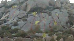 Rock Climbing Photo: Rosetta Stone