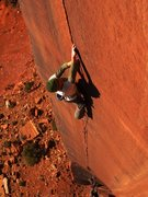 Rock Climbing Photo: Scott on the Six Star Crack
