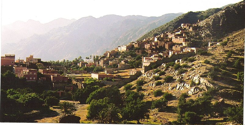 Rock Climbing Photo: Village near Tafroute