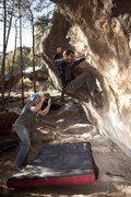 Rock Climbing Photo: Dan West Photo of Brad Ellen