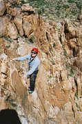 Rock Climbing Photo: The famous Morty Smith , one of the veteran member...