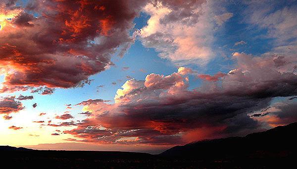 Rock Climbing Photo: Bishop Sunset. Photo by Blitzo.