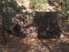 Rock Climbing Photo: The third boulder along the valley floor