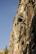 Rock Climbing Photo: me whipping on 'Sheik yer Bouti' ,still no send ye...