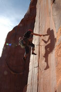 Rock Climbing Photo: Catching a little flight time on Flight Time