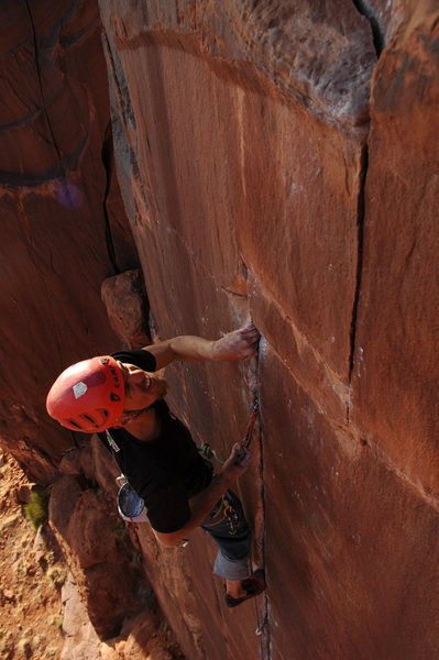 Rock Climbing Photo: I see you jug.