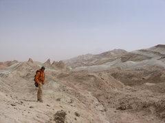 Rock Climbing Photo: Quidam Basin, China