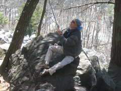 Rock Climbing Photo: At one time I was the BEST BELAYER @ the Lake. (Se...