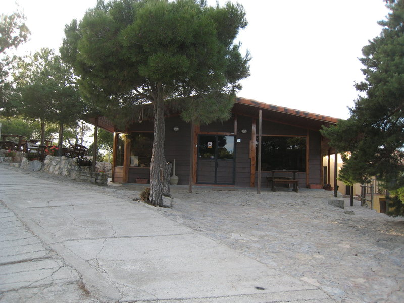 The Camping Siurana Bar.