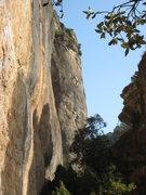 Rock Climbing Photo: Enjoying the upper slab of TSF.
