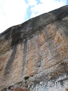 "Rock Climbing Photo: Above the major difficulties on ""Anabolica&qu..."