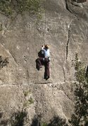 "Rock Climbing Photo: Savoring the stellar ""Ultima del 85"" at ..."