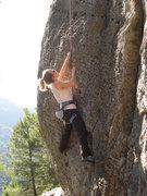 Rock Climbing Photo: Beginning up the steep, juggy wall.