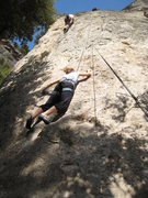 Rock Climbing Photo: Beginning up Camparos.  It can feel crowded due to...
