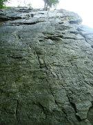 Rock Climbing Photo: The Burn