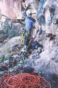 Rock Climbing Photo: Why lazy buggas sport climb !!