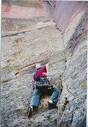Rock Climbing Photo: Starting the first pitch