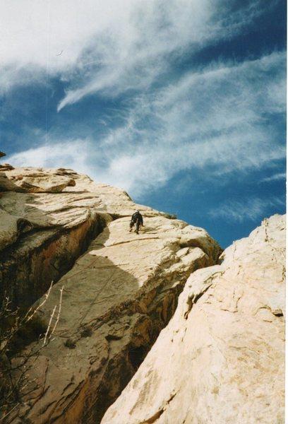 Rock Climbing Photo: Forth Pitch