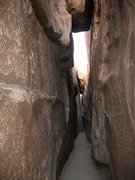 Rock Climbing Photo: The Real Hall of Horrors, Joshua Tree NP