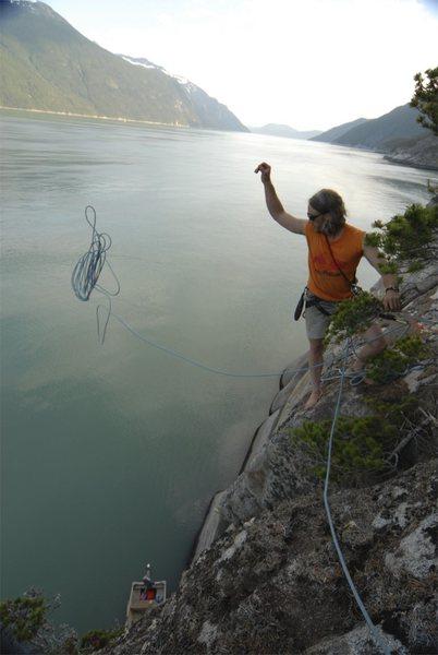 fjiord climbing in alaska