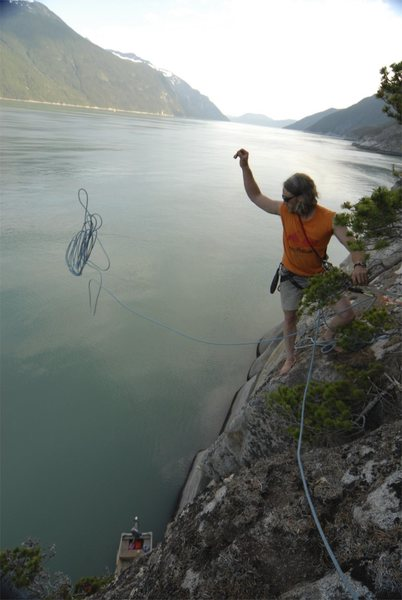 Rock Climbing Photo: fjiord climbing in alaska