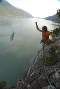 Rock Climbing Photo: fjiord climbing in alaska