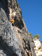 "Rock Climbing Photo: Starting up ""Cleptomania""."